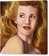 To Rita Hayworth Canvas Print