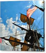 To The Maritime Sky Canvas Print