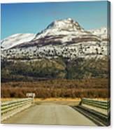 To The Mountain Canvas Print