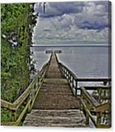 A Walk To The Sea Canvas Print