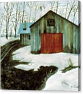 To The Sugar House Canvas Print