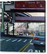To The Triboro Canvas Print