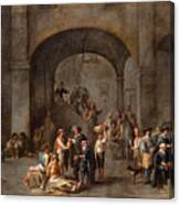 To Visit The Imprisoned  Canvas Print
