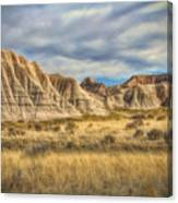 Toadstool Geologic Park Canvas Print