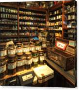 Tobacco Jars Canvas Print