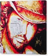 Toby Kieth Canvas Print