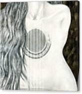 Tocar Mi Amor Canvas Print