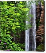Toccoa Falls In Georgia Canvas Print