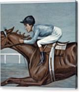 Tod Sloan (1874-1933) Canvas Print