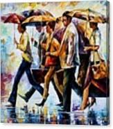 Today I Forgot My Umbrella... Canvas Print