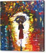 Today I Walk Alone Canvas Print