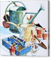 Todays Toil Tomorrows Pleasure IIi Canvas Print