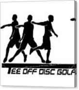 Todg Black Logo Canvas Print