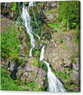 Todtnau Waterfall, Black Forest, Germany Canvas Print
