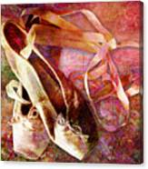 Toe Shoes Canvas Print