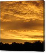Toffee Sunset 3 Canvas Print