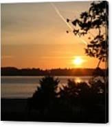 Tofino Sunset Ss1027 Canvas Print