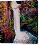 Tokeetee Falls Canvas Print