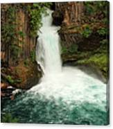 Toketee Falls 4 Canvas Print