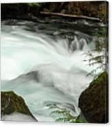 Toketee Falls 7 Canvas Print
