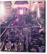 Tokyo 3017 #4 Canvas Print