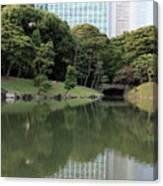 Tokyo Japanese Garden Canvas Print