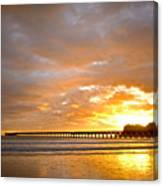Tolaga Bay Pier IIi Canvas Print