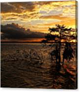 Toledo Bend Sunset Canvas Print