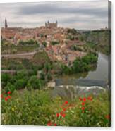 Toledo City, Spain Canvas Print