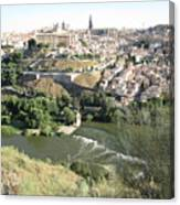 Toledo Morning Canvas Print