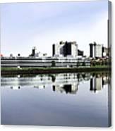 Toledo Panoramic View Canvas Print