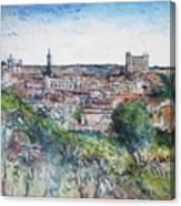 Toledo Spain 2016 Canvas Print