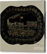 Toleware Tin Tray Canvas Print