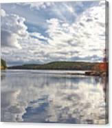 Tolland Lake Two Canvas Print