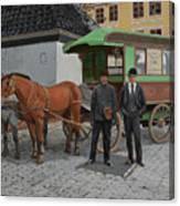 Tollebussen Canvas Print