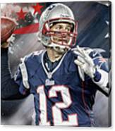 Tom Brady New England Patriots Canvas Print