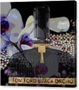 Tom Ford Black Orchid Canvas Print