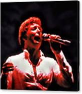 Tom Jones In Concert Canvas Print