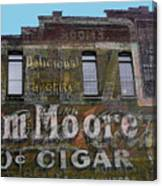 Tom Moore Ten Cent Cigar Canvas Print