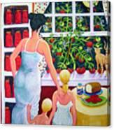 Tomato - Materphobia Canvas Print