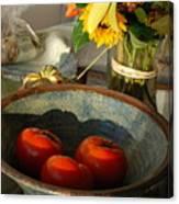 Tomato Still Life Canvas Print
