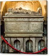 Tomb Of Dom Henrique Canvas Print