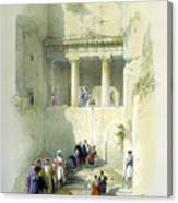 Tomb Of St. James Canvas Print