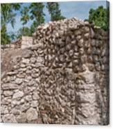 Tombs At Oxtankah Canvas Print
