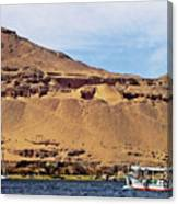Tombs Of The Nobles Aswan Canvas Print