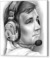 Tommy Bowden Canvas Print