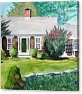 Toms House Canvas Print