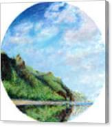 Tondo Canvas Print
