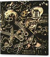 Tones Of Hard Rock Canvas Print