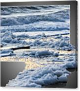 Too Big For The Frame Canvas Print